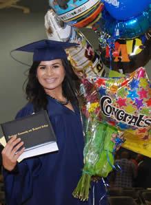 Happy Grad at RCTC Commencement