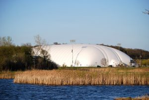 RCTC's Bubble Over the Rochester Regional Stadium