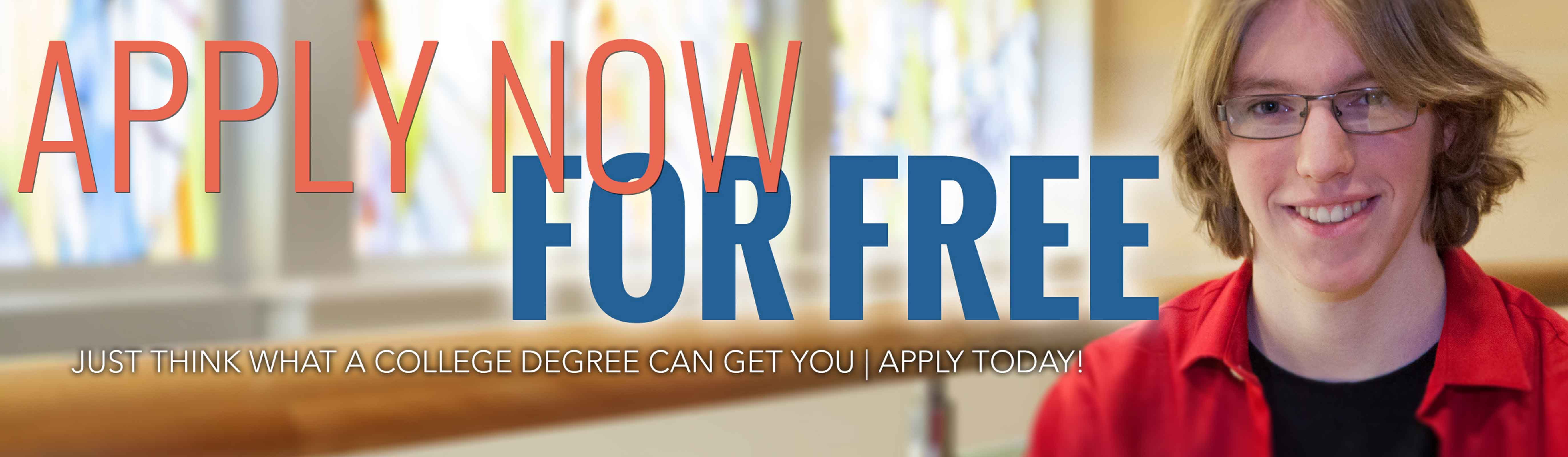 Apply Now for Free
