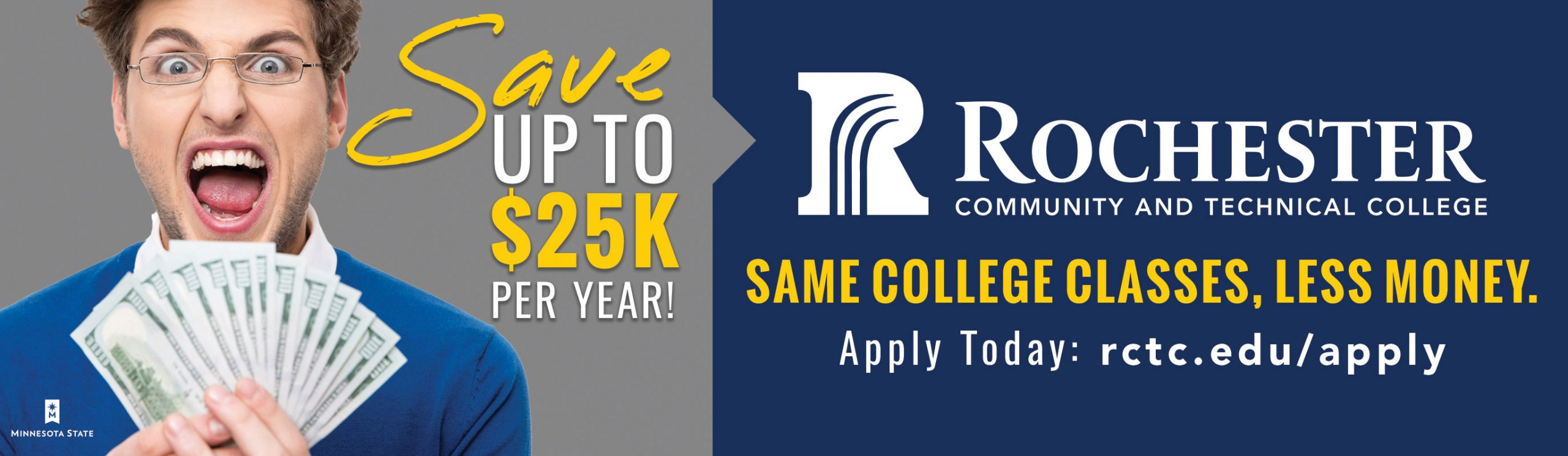 Save Money with RCTC